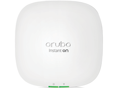 Aruba, Instant On AP22 (RW) 2x2 Wi-Fi 6 Indoor Access Point with 12V PSU EU Bundle (Táppal)
