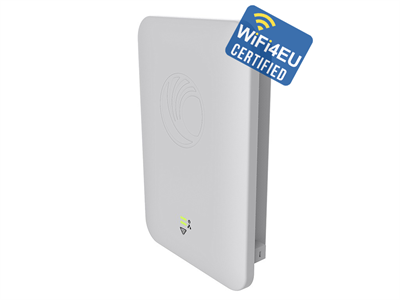 Cambium Networks, cnPilot E502S (EU) Outdoor 30 Deg sector 802.11ac 2x2 WLAN AP with Tilt bracket & PoE Injector