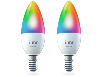 Innr, CANDLE - E14 colour, 2-pack