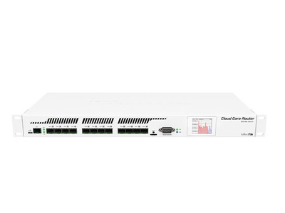 MikroTik, Cloud Core Router CCR1016 (12SFP, 1SFP+) Redundant power supply + Gb RJ45 SFP modul