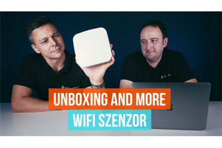 Unboxing and more - WiFi Szenzor (Cape Networks / Aruba)